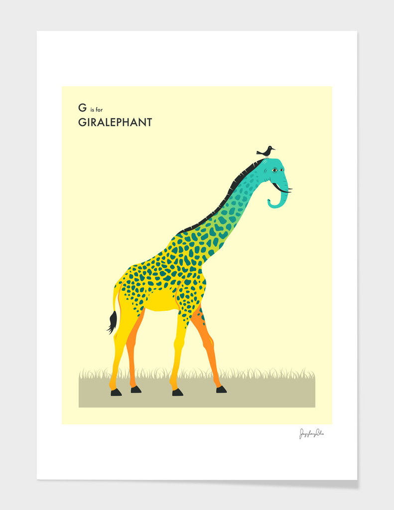 G is for Giralephant