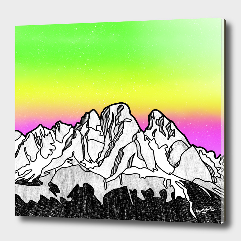 Cristallo Massif Mountain