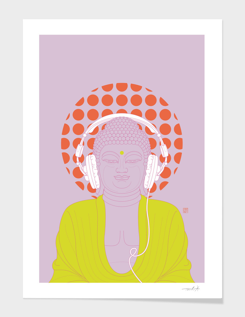 Buddha : Listen to Om! (PopArtVersion)