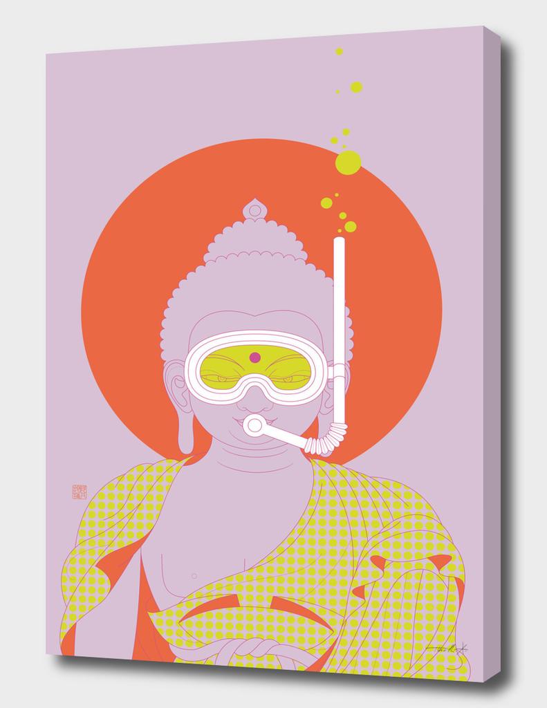 Buddha : Take A Deep Breath! (PopArtVersion)