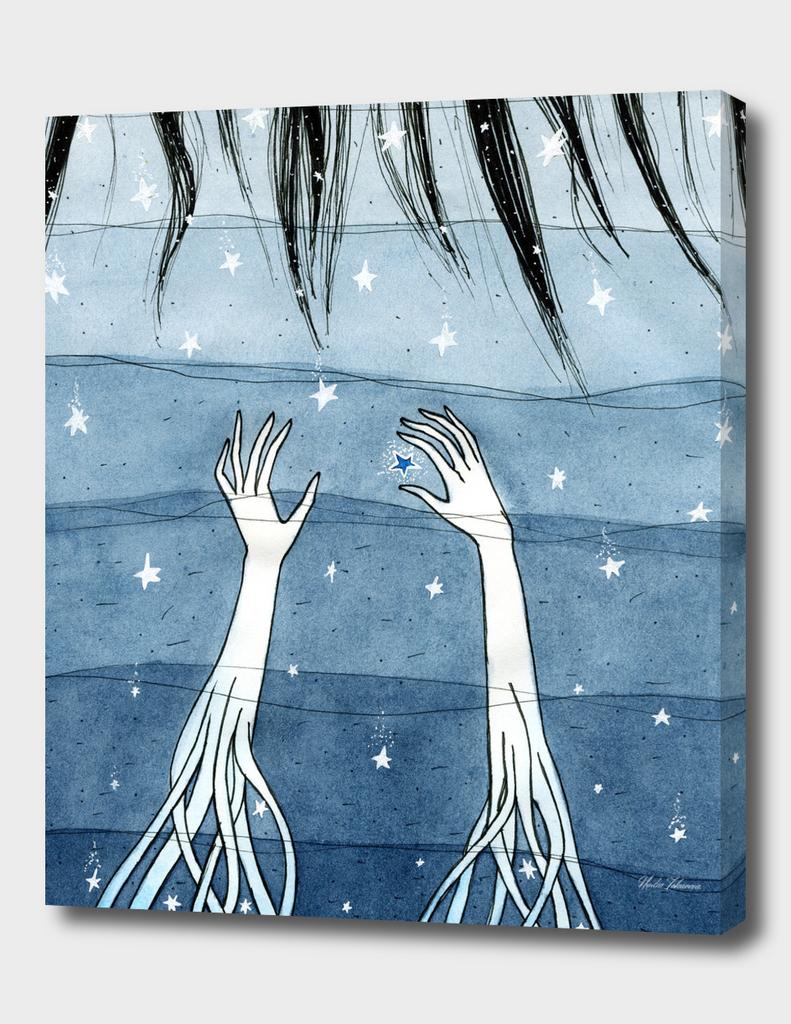 Deep Water, White Stars