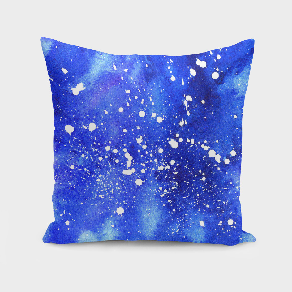 Watercolor Abstract Galaxy