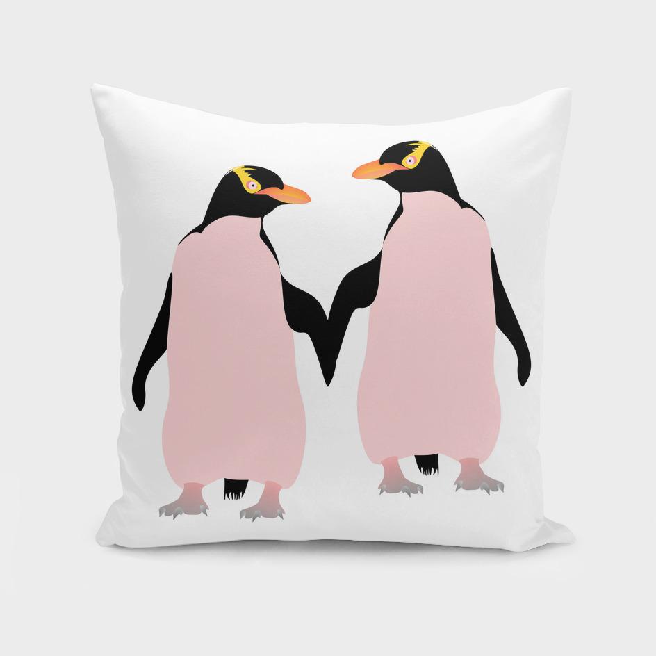 Lesbian Pride Penguins