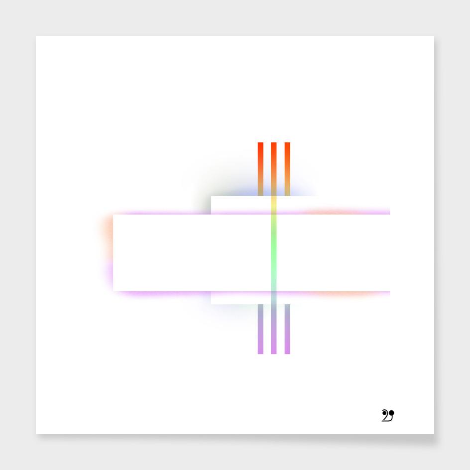 Minimal rainbow geometric white