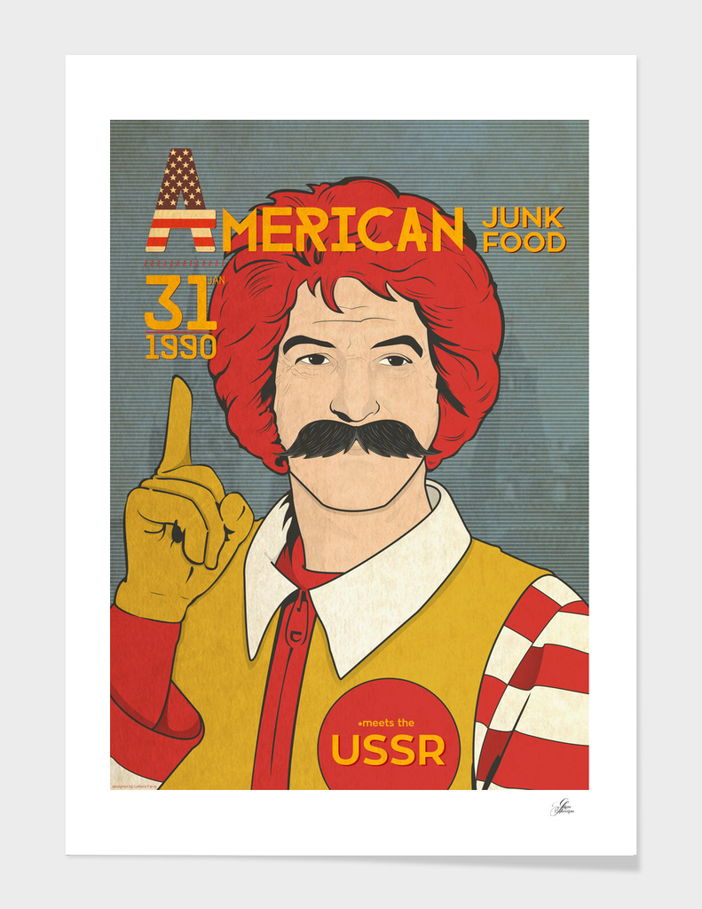 American Fast Food in the USSR