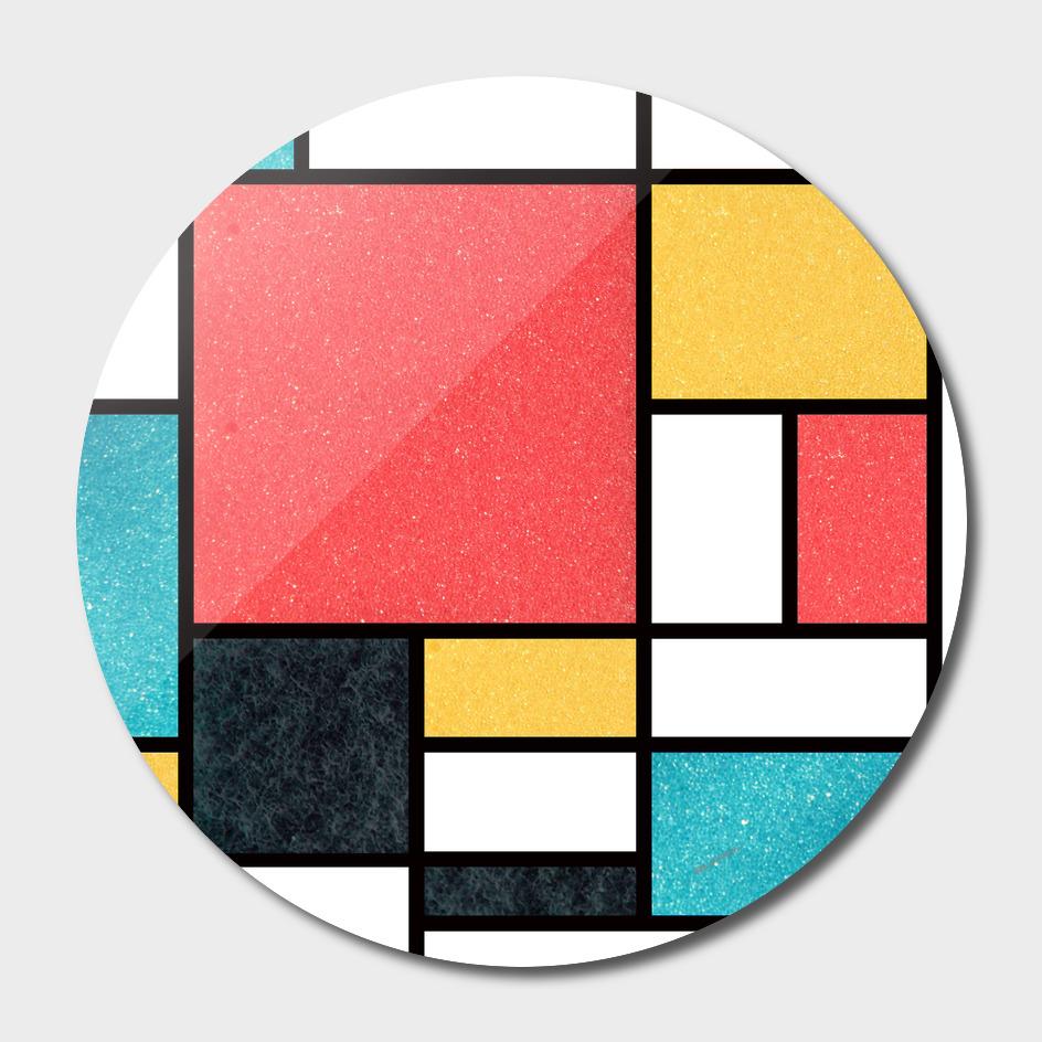 Clean Mondrian (Sponge)
