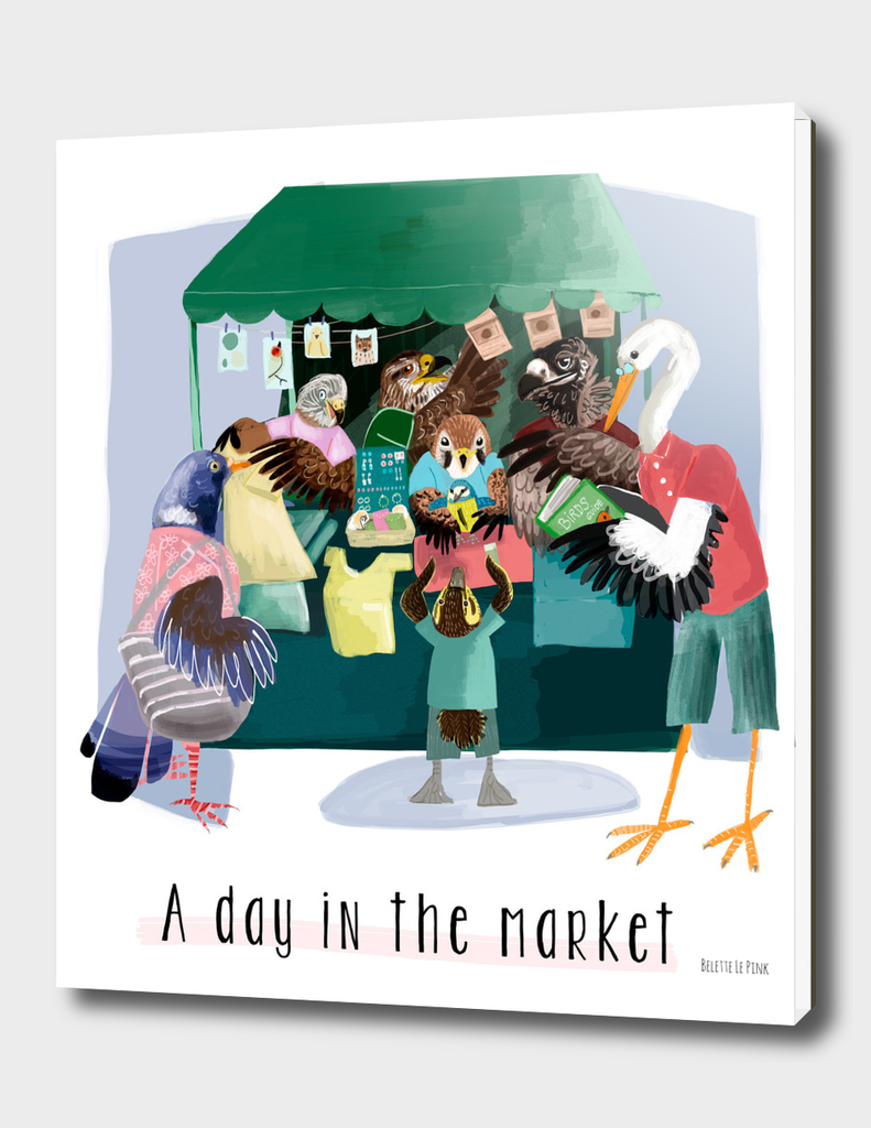 A day in the market