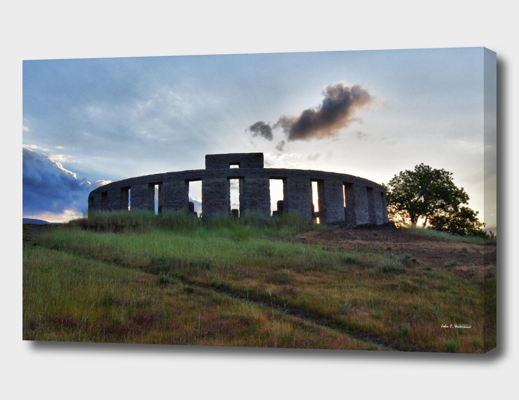 Stonehenge rising