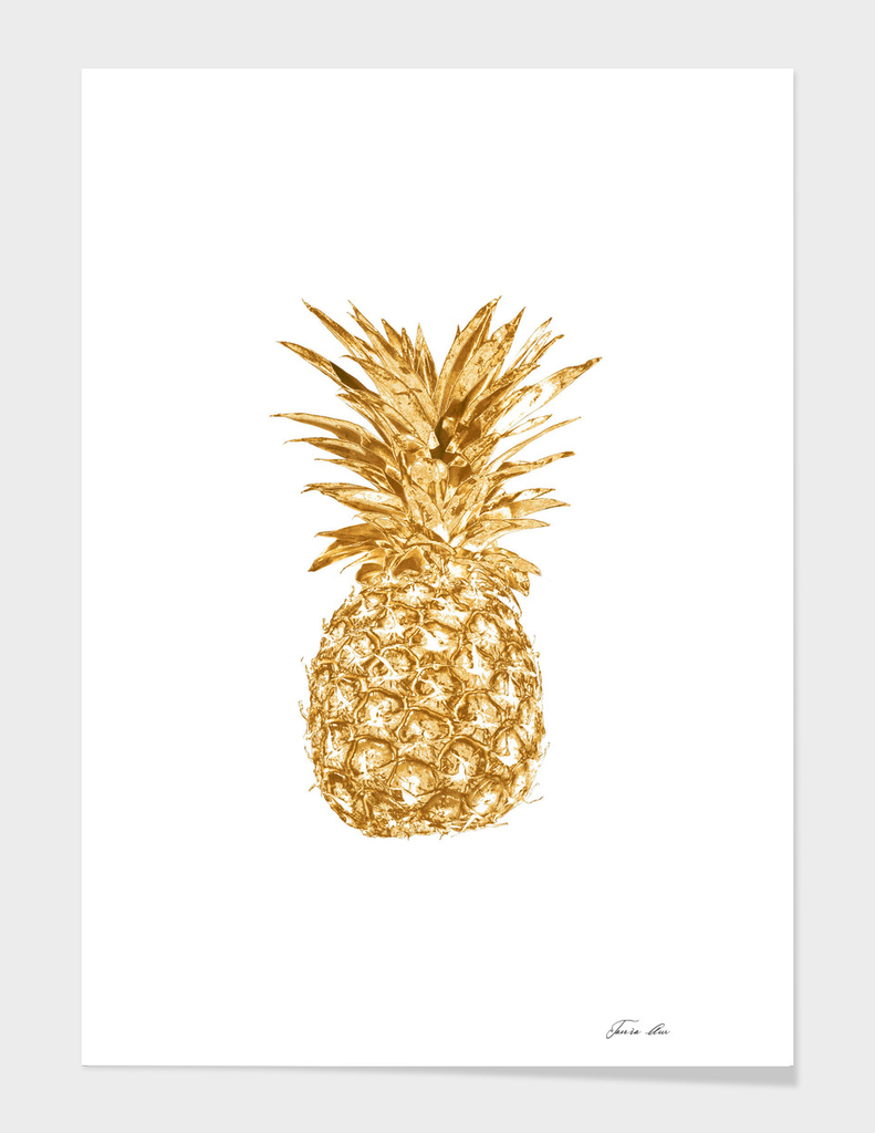 Golden pinapple