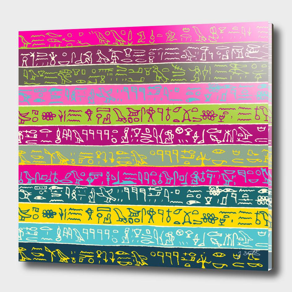 Egyptian hieroglyphs No2