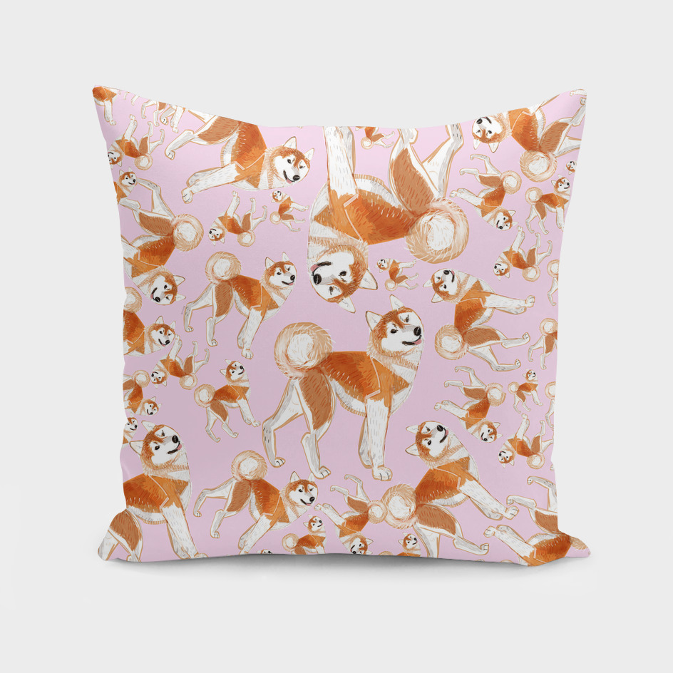 Year of the dog: Akita Inu (Pattern)