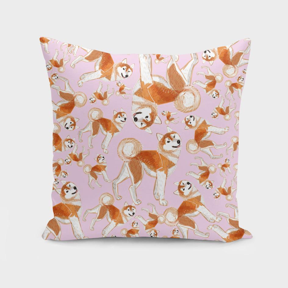 Year of the dog: Akita Inu (Pattern)