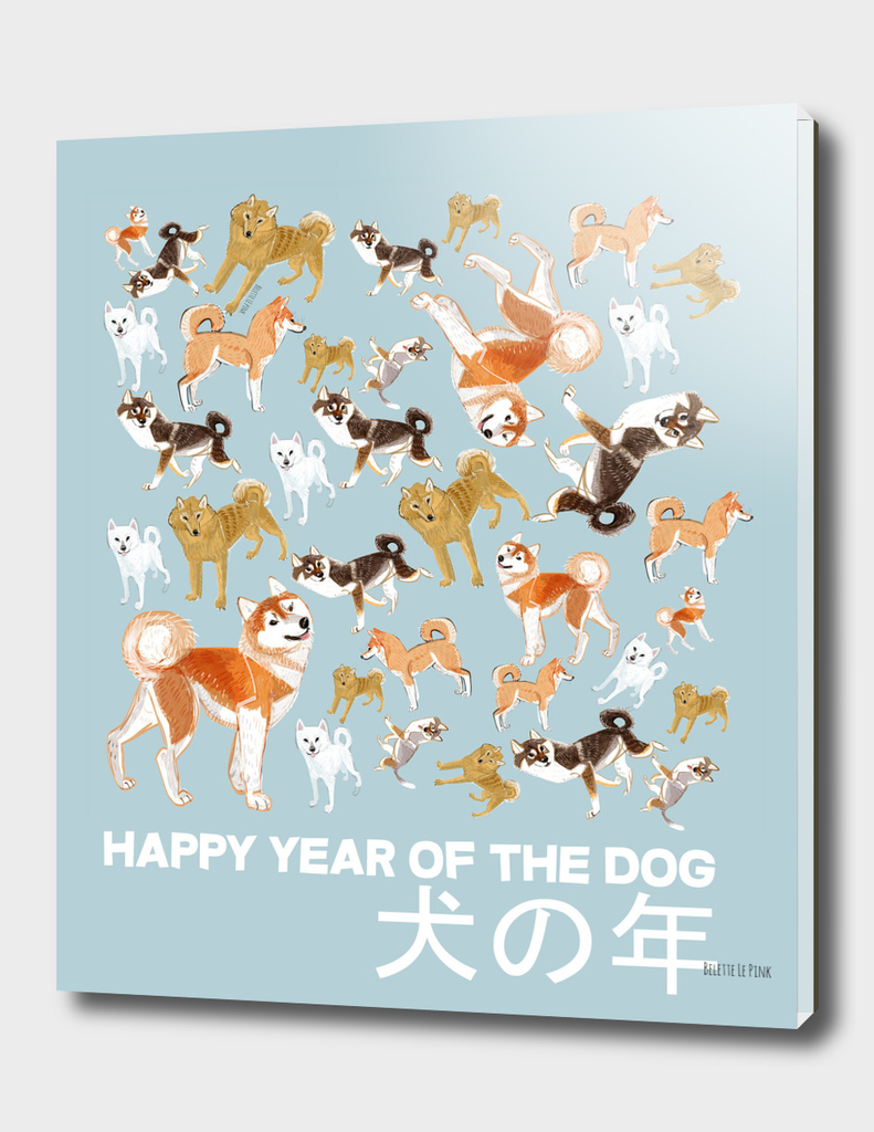 Year of the Dog: Japanese Dog Breeds (typo japanese)