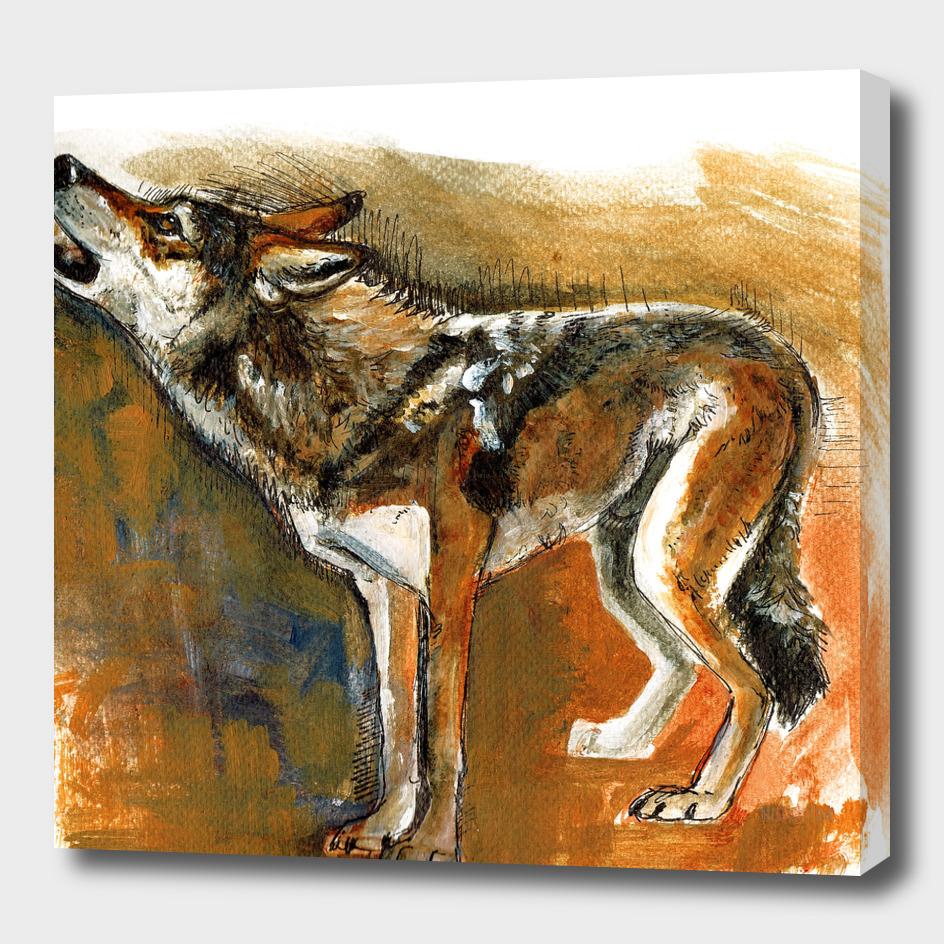 Totem arabian Desert Wolf