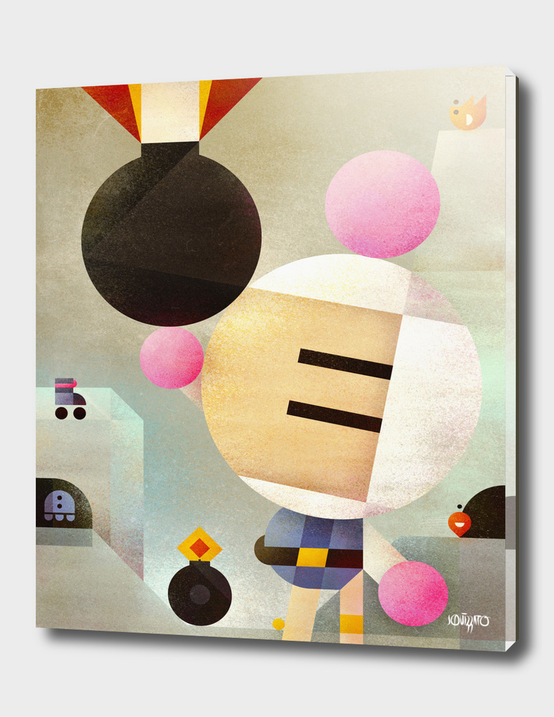 Minimal Bomberman