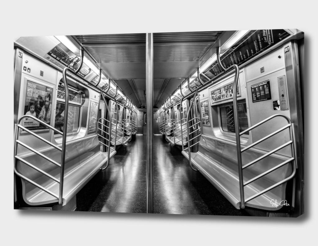 NYC subway N train