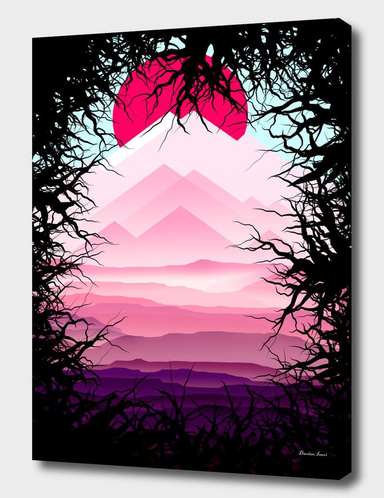 Ultra Violet Landscape