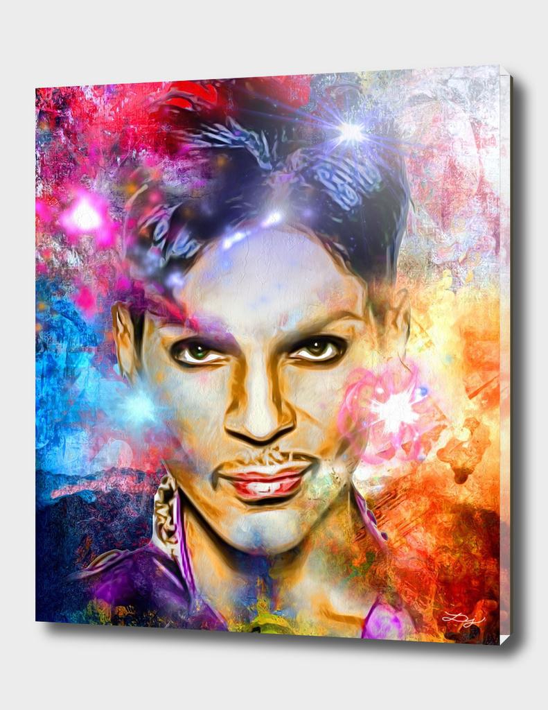 Prince Painted Portrait