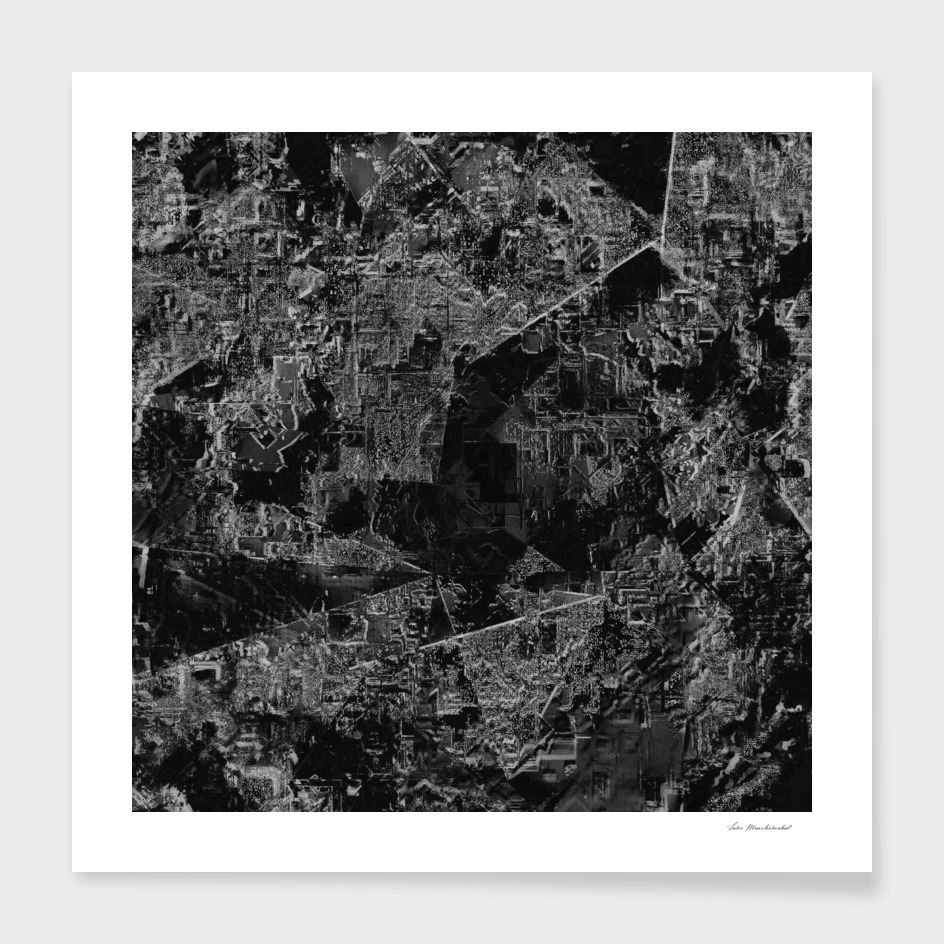 painting texture abstract background in black and white