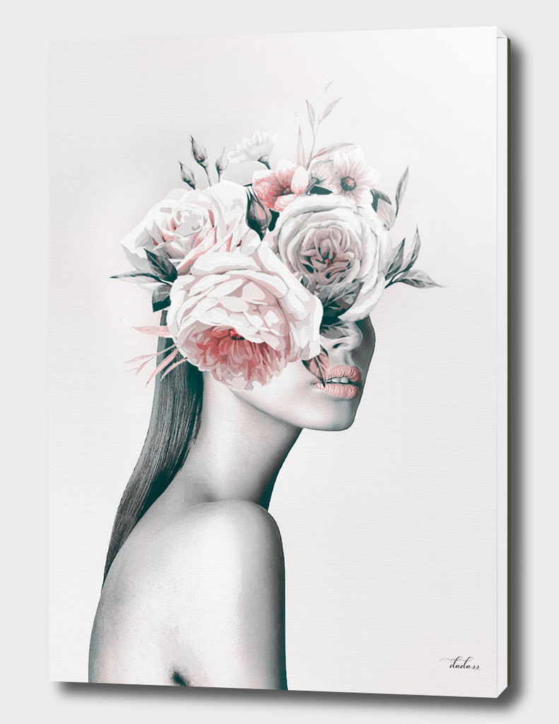 WOMAN WITH FLOWERS 11