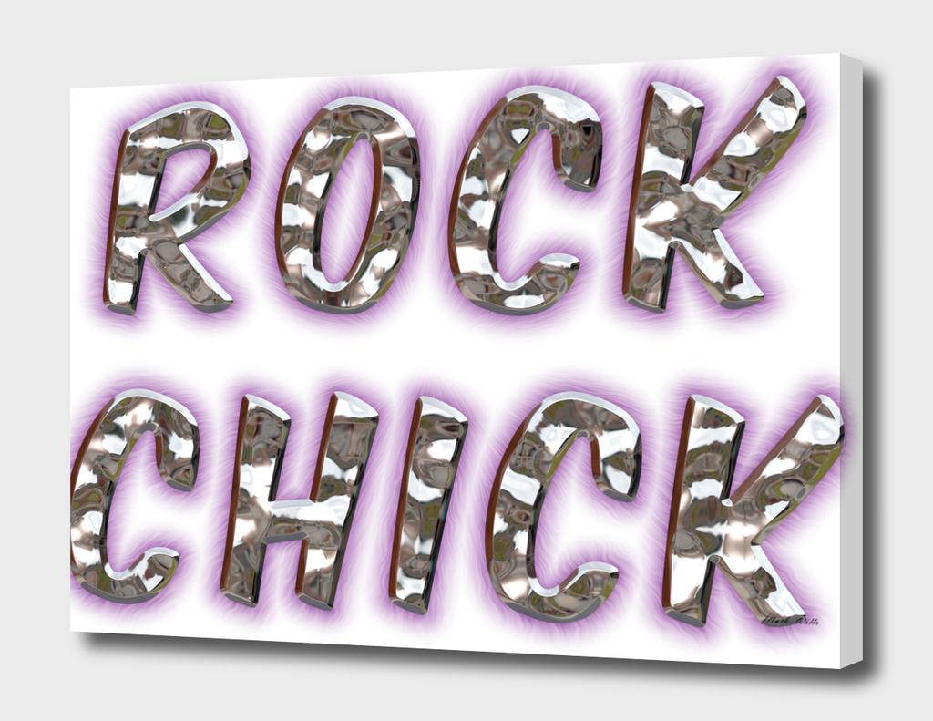 Rock Chick Chrome With Purple Glow
