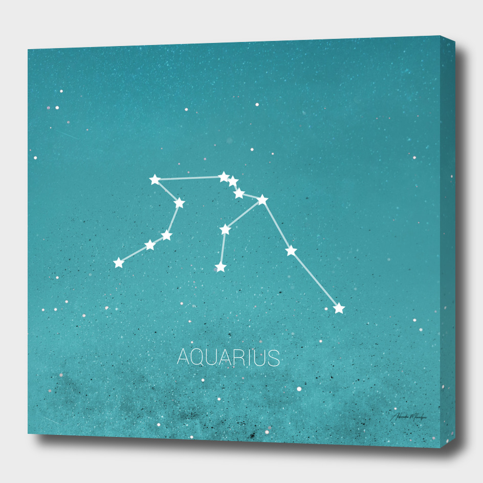 Aquarius constellations