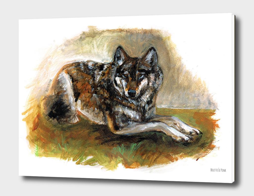 Totem carphatian wolf