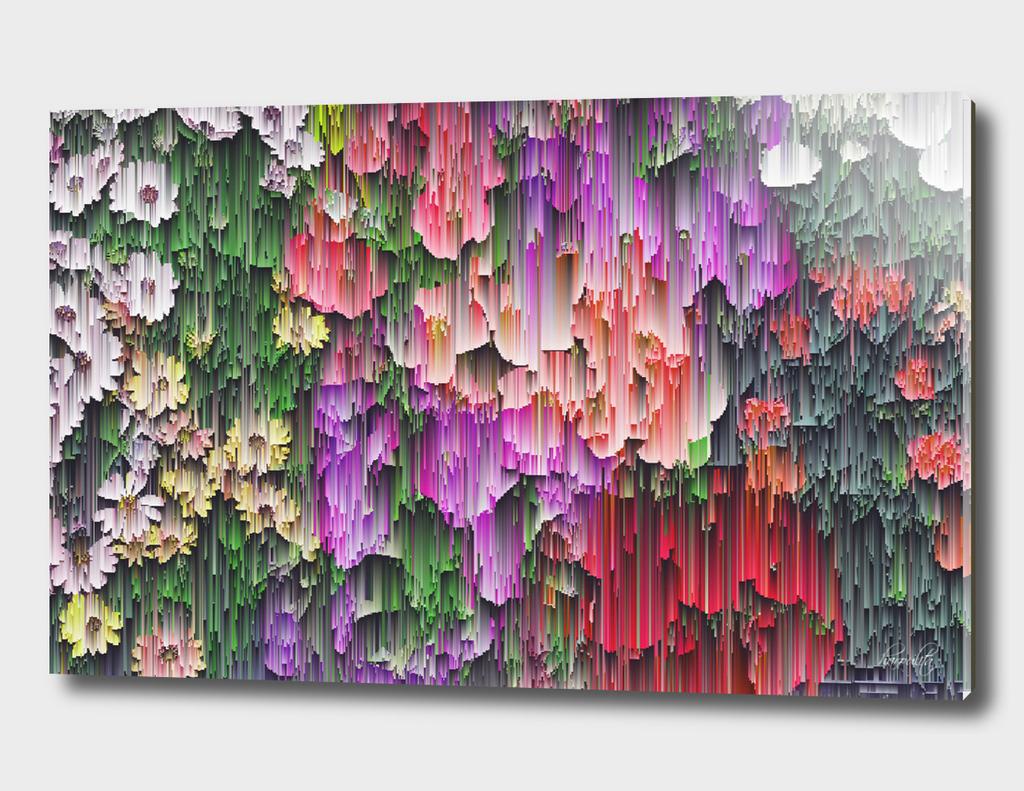 flower glitchy v