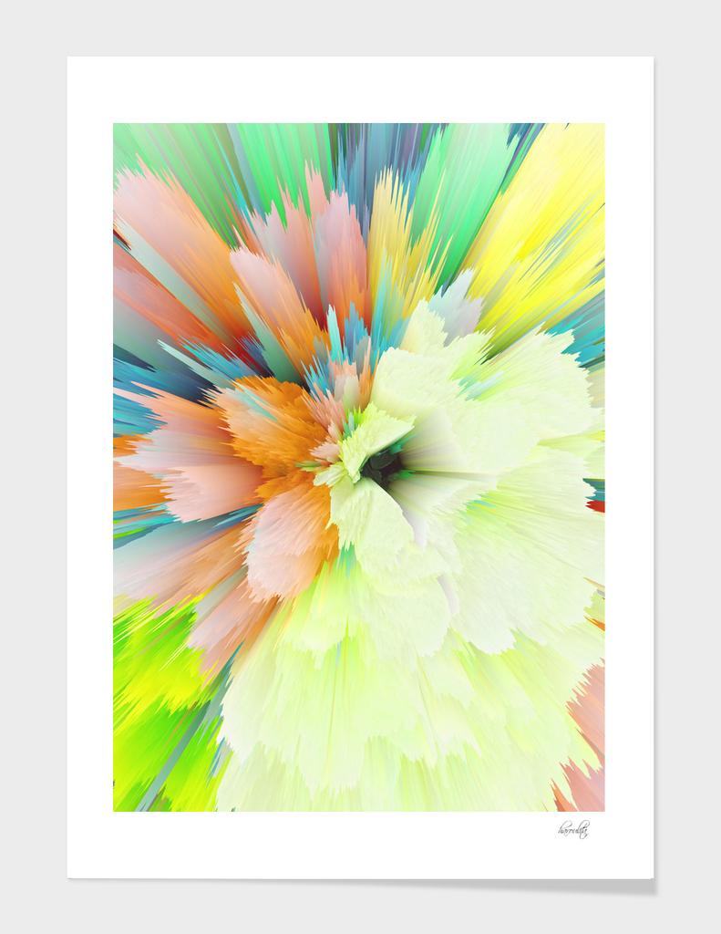 flower glitchy cv