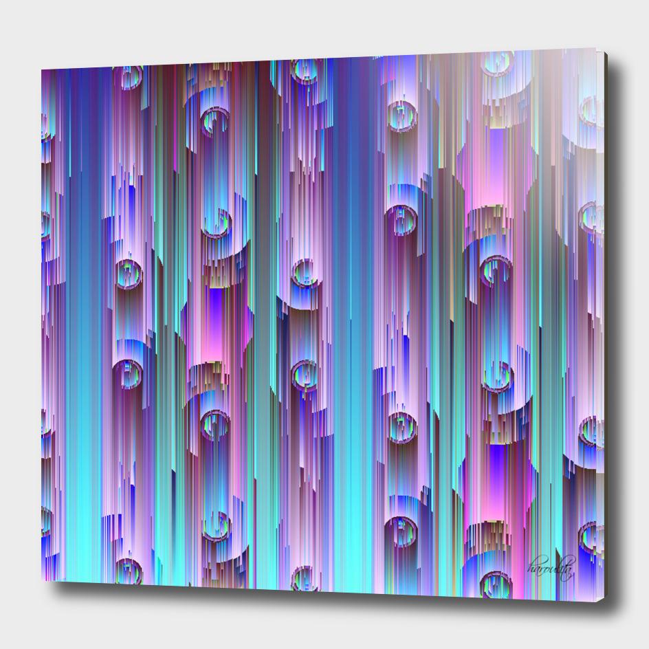 glitchy rain cn