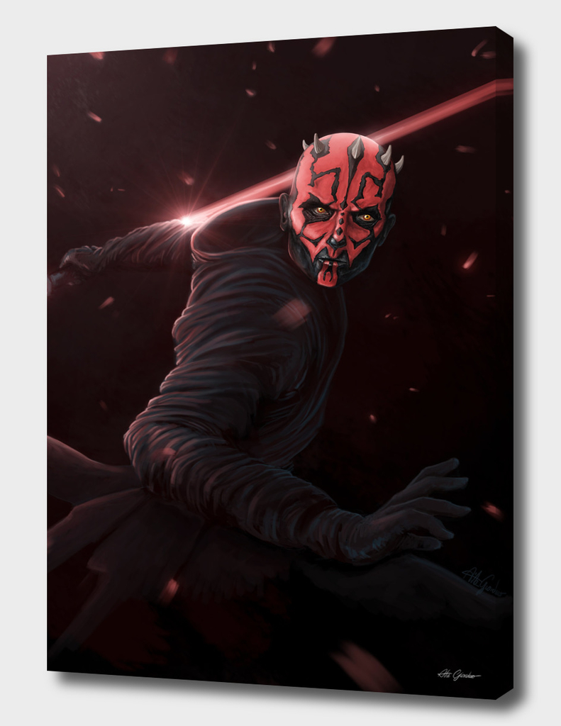 Darth Maul concept art