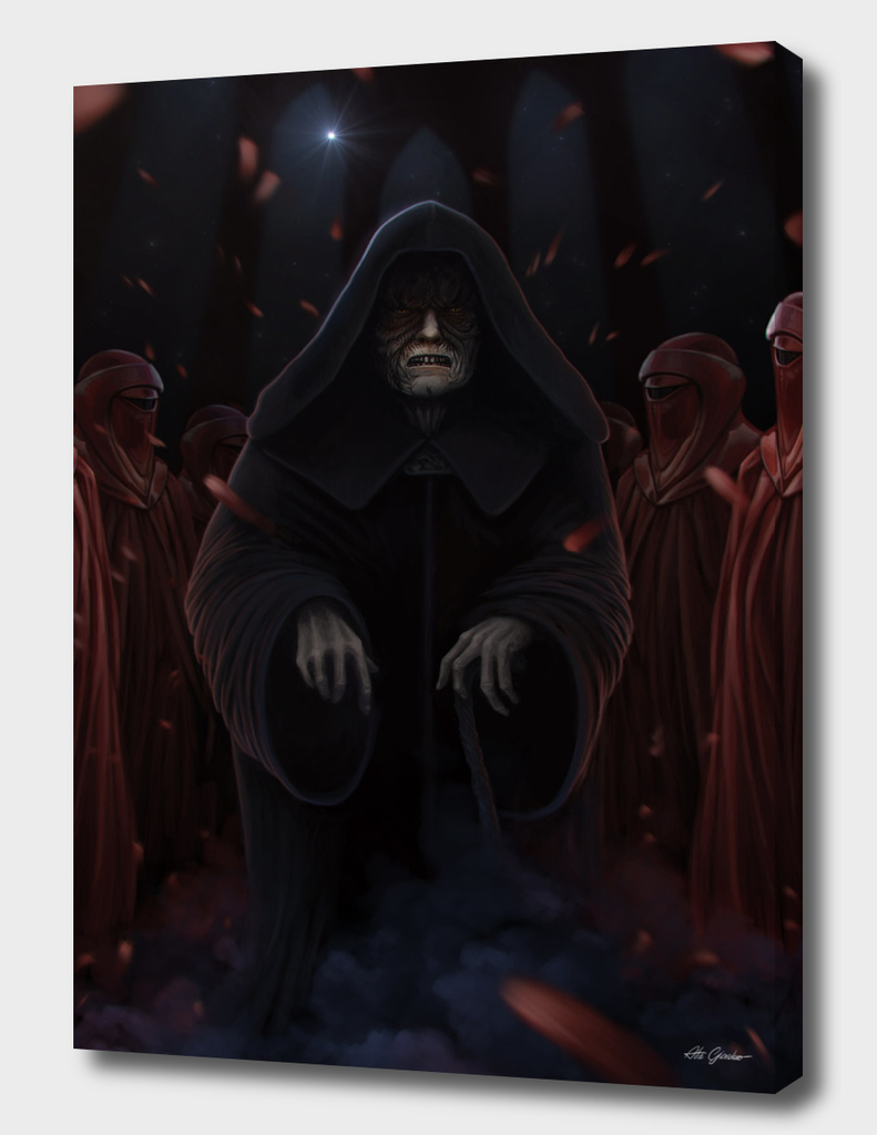 Palpatine and the Emperor's Royal Guard