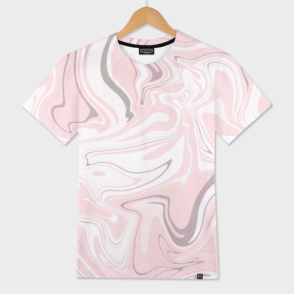 Elegant pink marble