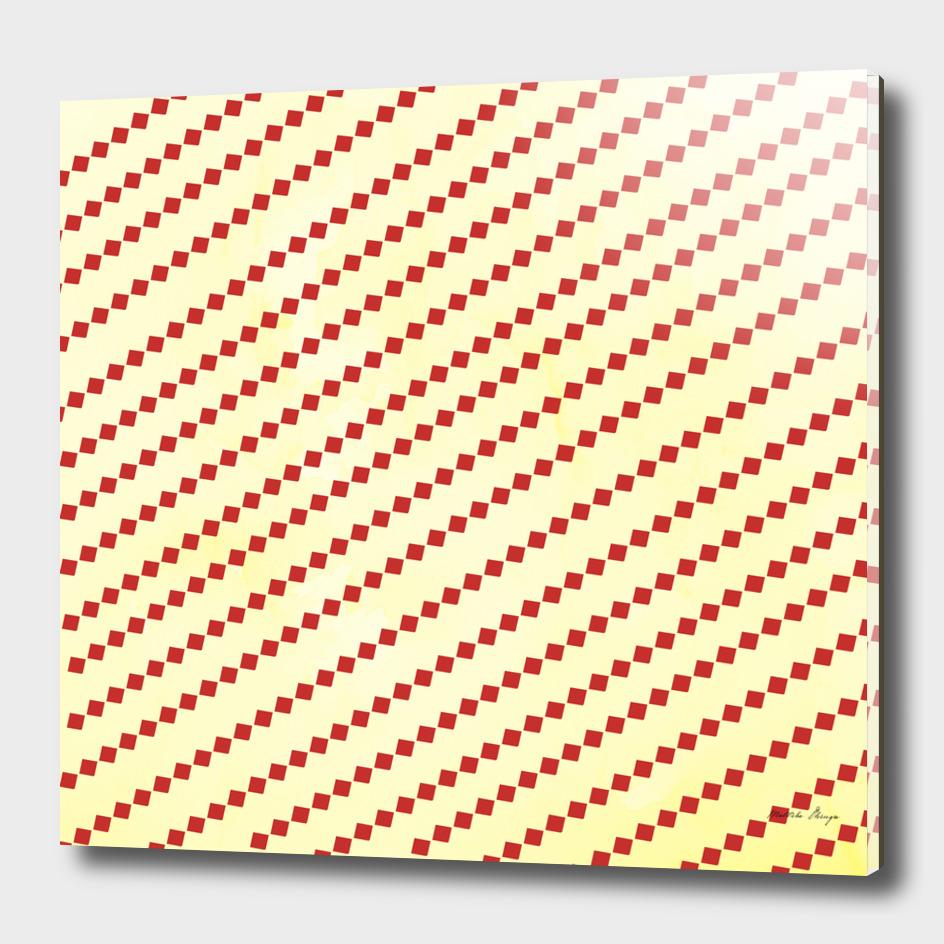 slanting pattern