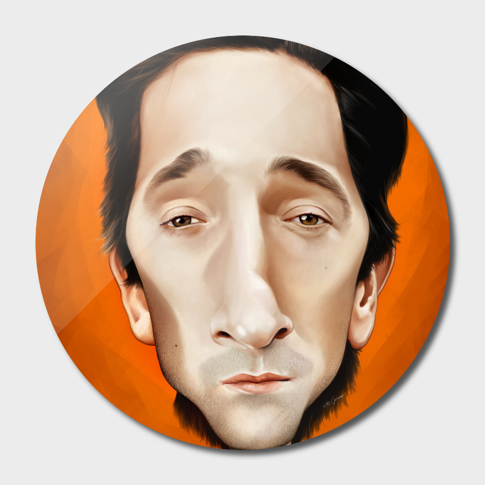 Adrien Brody Caricature