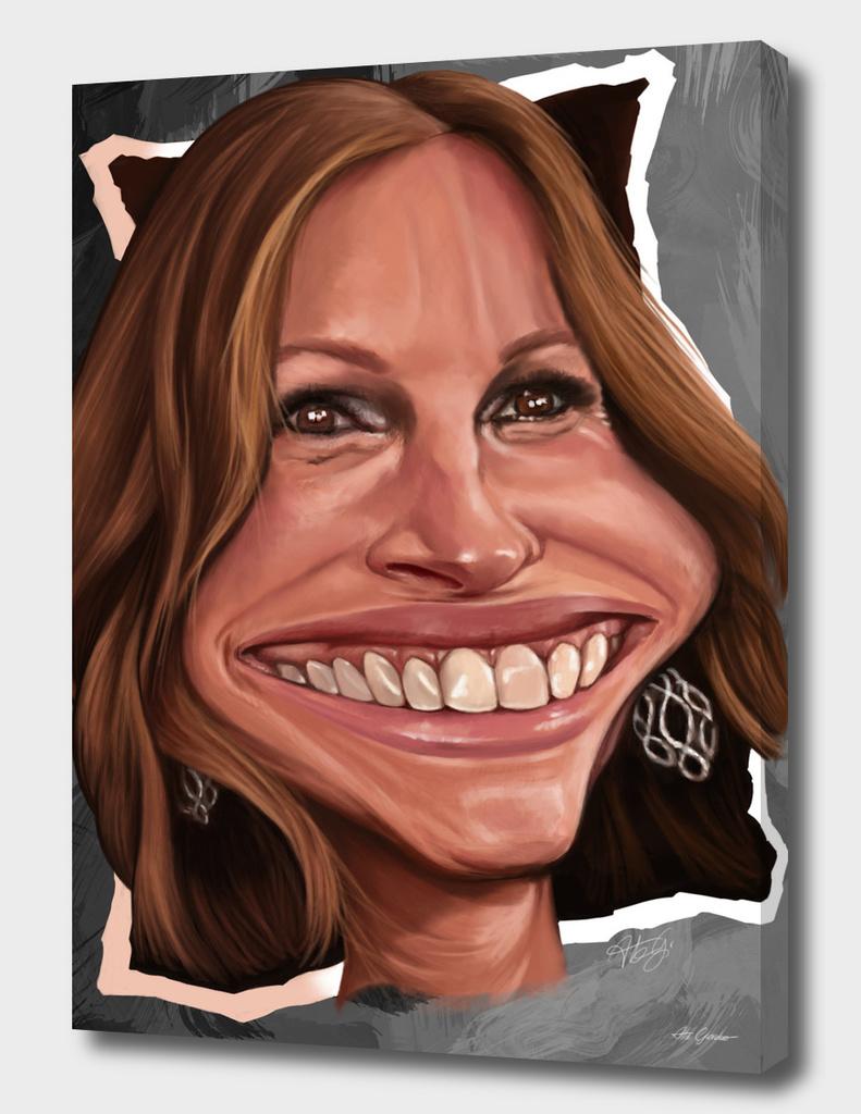 Giulia Roberts Caricature