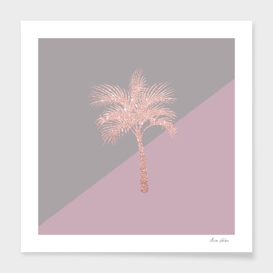 Cute glitter palm