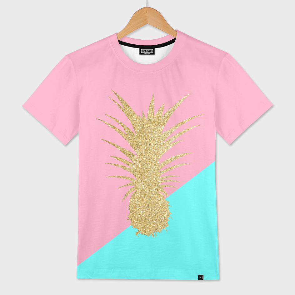 Cute glitter pineapple