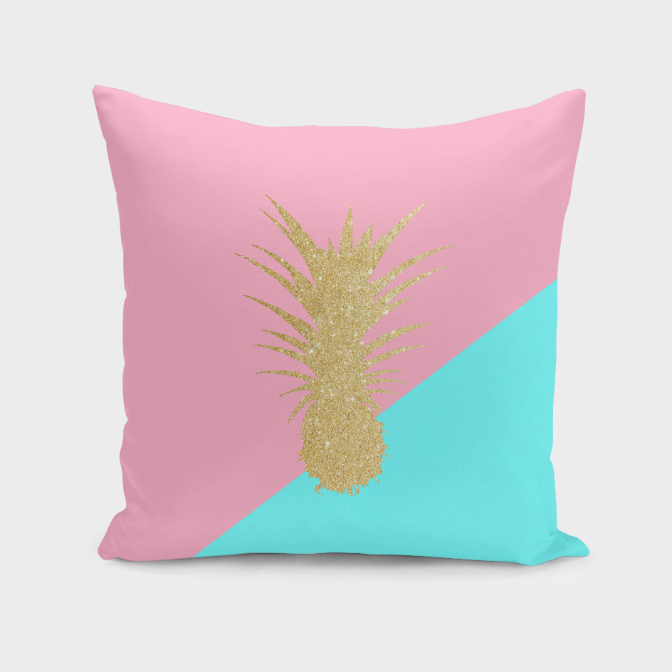 Cute glitter pineapple