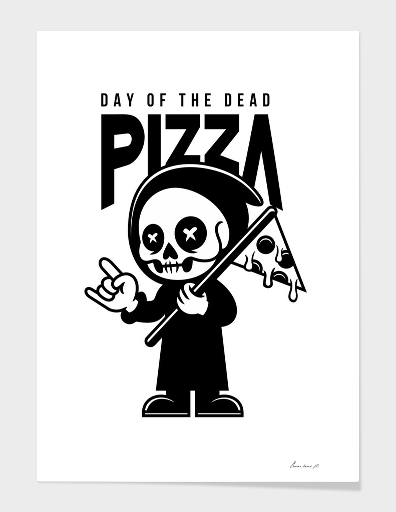 Day Of The Dead Pizza