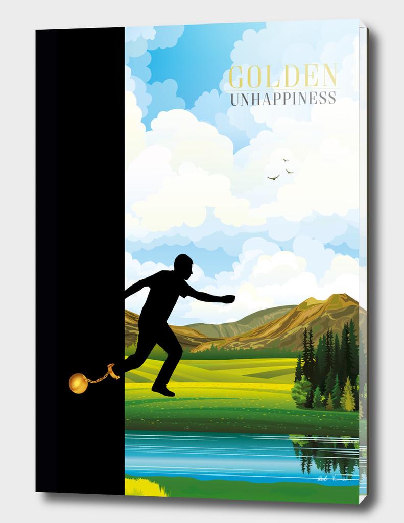 Golden unhappiness