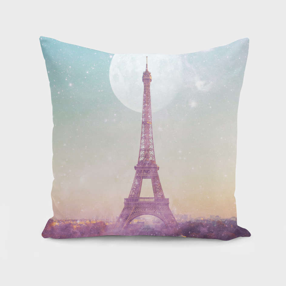 I LOVE PINK PARIS EIFFEL TOWER - Full Moon Universe