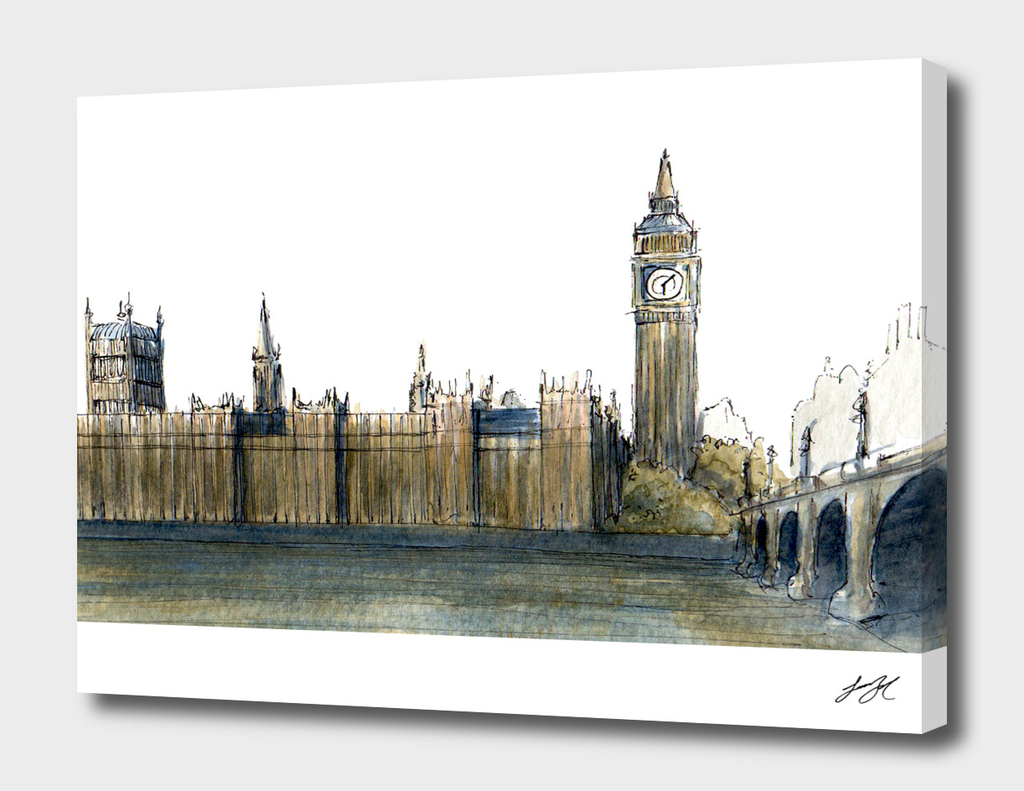 Watercolor London