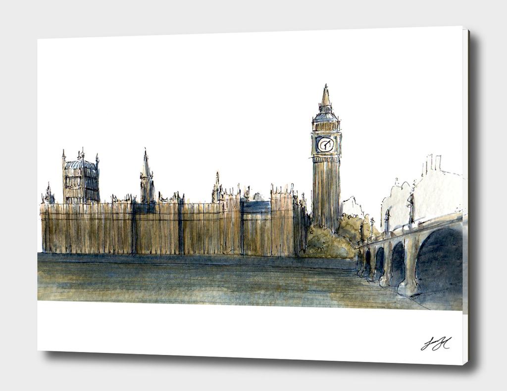 Watercolor London