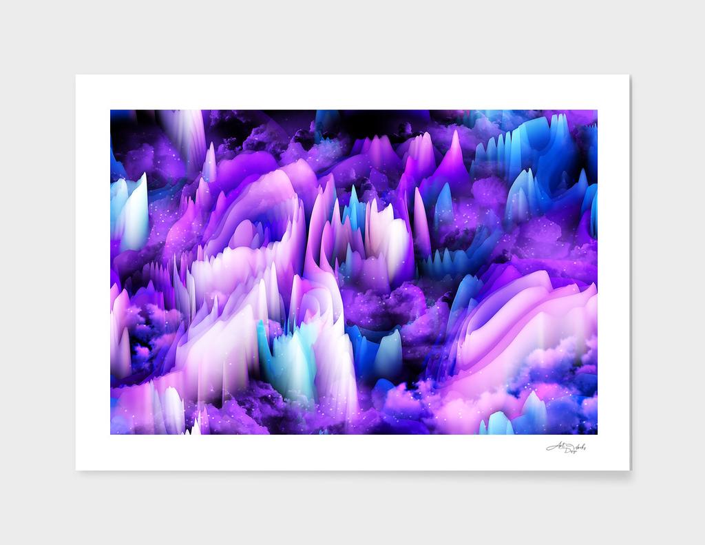 Artistic - XVIII - Violet Hills