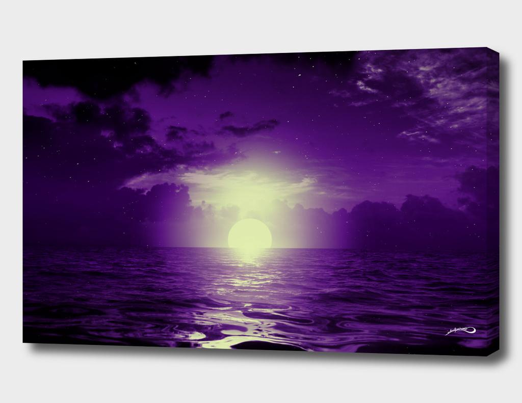 Purple cloud by #Bizzartino