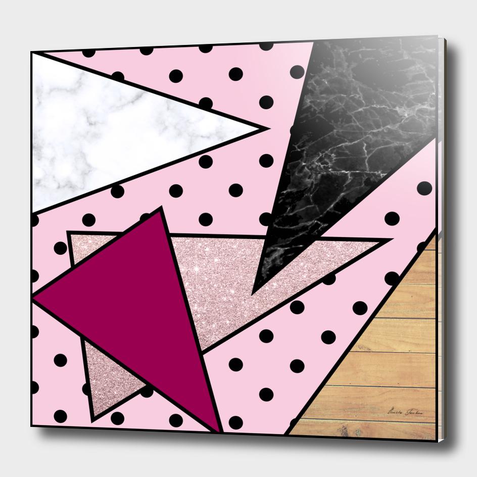 Elegant and colorful geometric design
