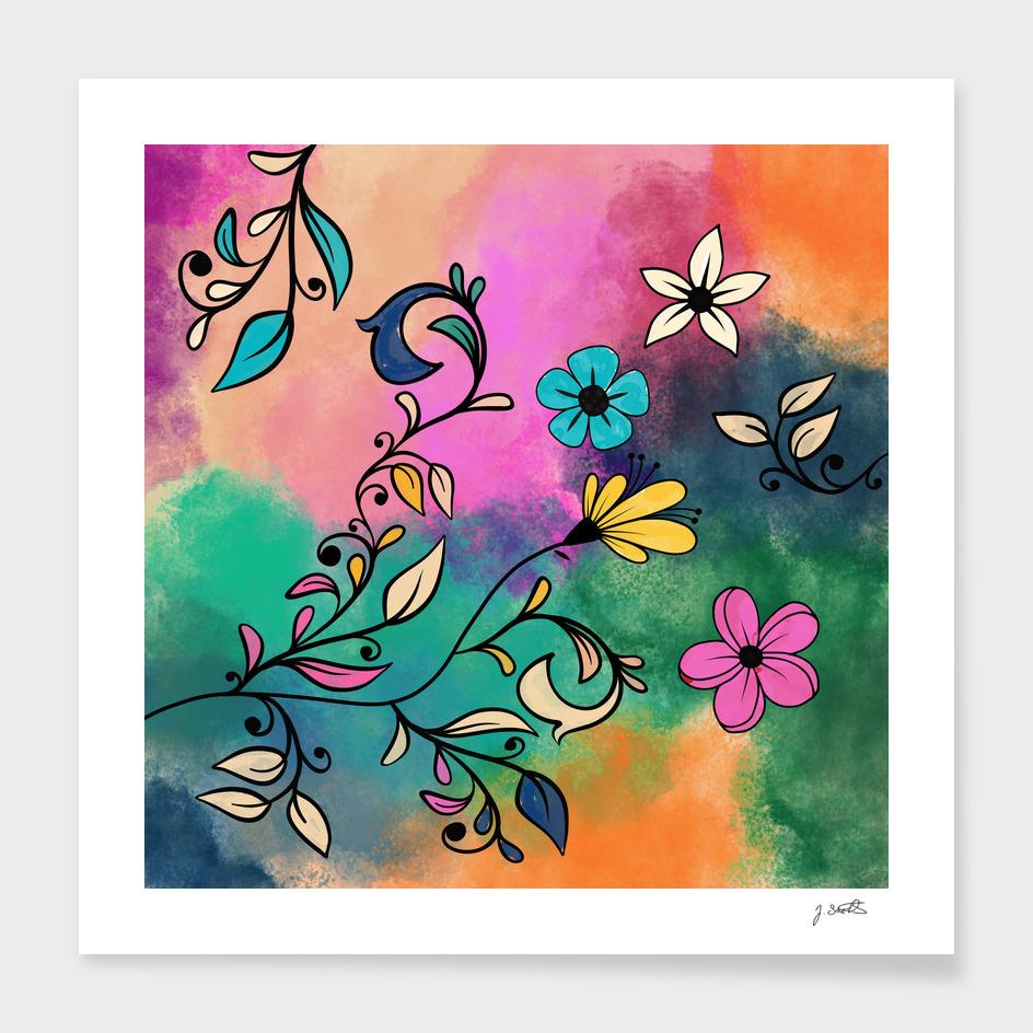 Magical Flowers No2