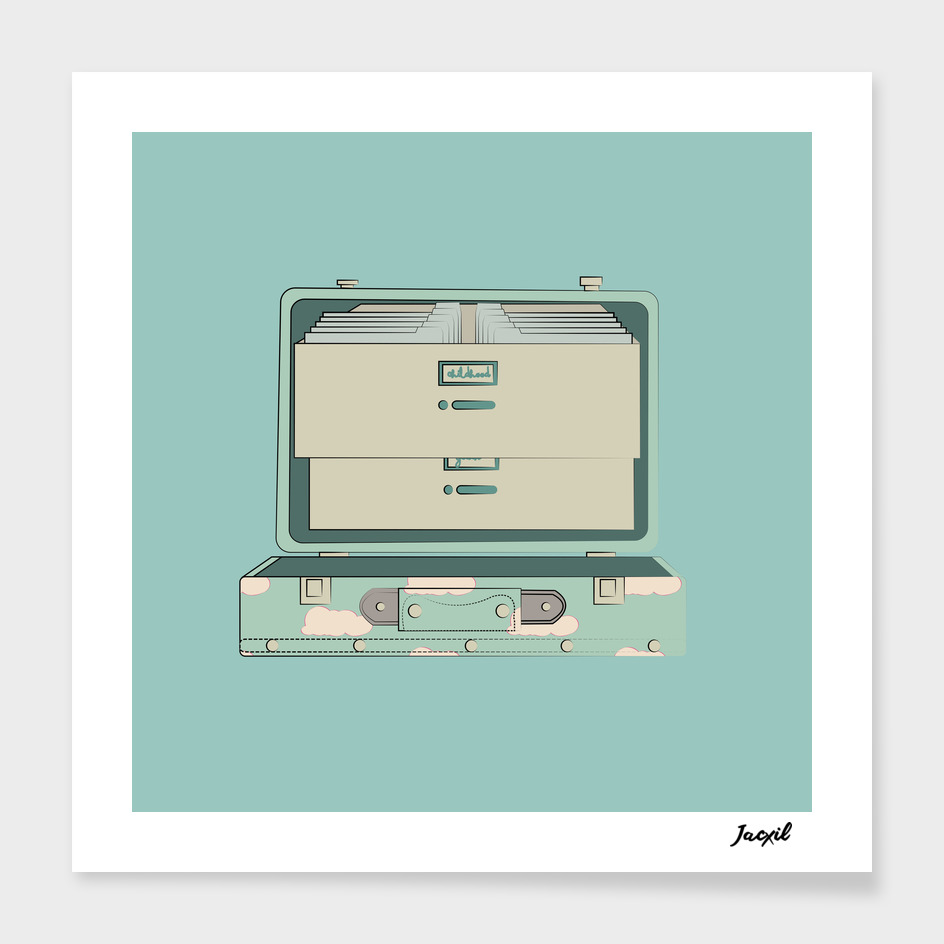 Memory Suitcase