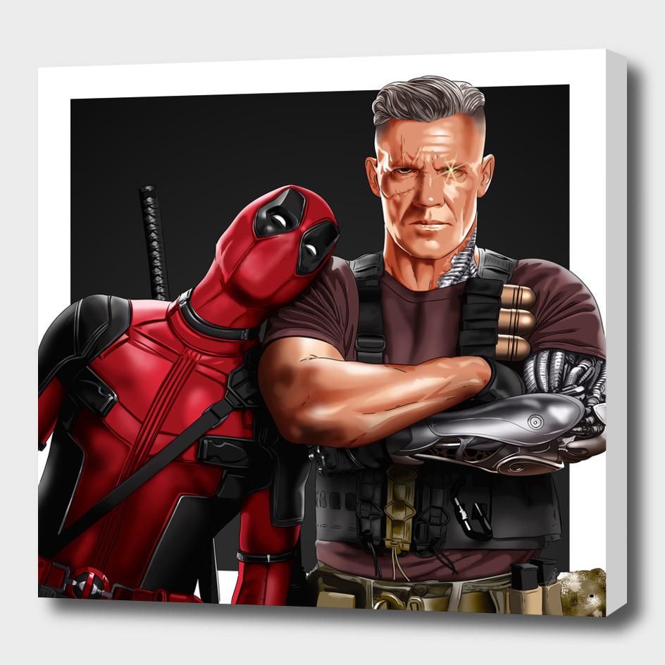 Deadpool 2 - Deadpool & Cable